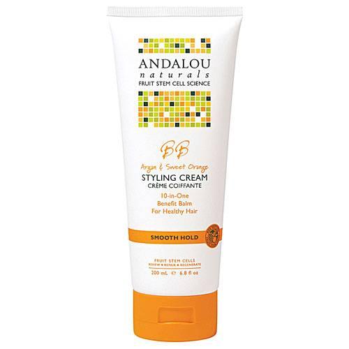 Andalou Naturals - Andalou Naturals Argan and Sweet Orange Smooth Hold Styling Cream
