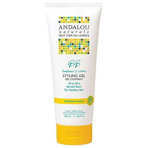 Andalou Naturals - Andalou Naturals Styling Gel Healthy Shine Sunflower and Citrus