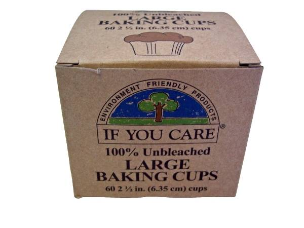 If You Care - If You Care Brown Baking Cups - 60ct. (24 Pack)