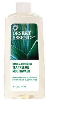 Desert Essence - Desert Essence Tea Tree Oil Mouthwash Spearmint 8 oz