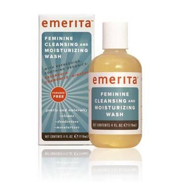 Emerita - Emerita Feminine Cleansing & Moisturizing Wash 4 oz