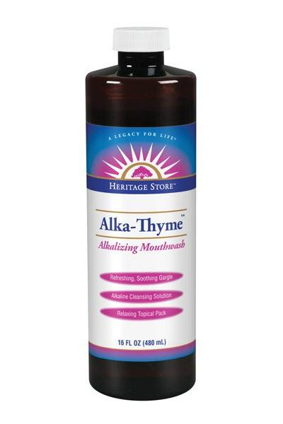 Heritage Products - Heritage Products Alka-Thyme Mouthwash 16 oz