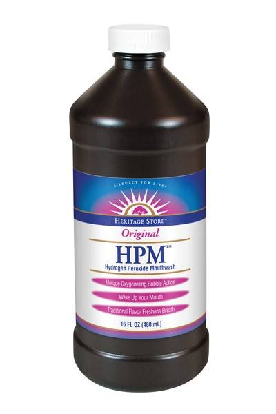 Heritage Products - Heritage Products Hydrogen Peroxide Mouthwash 16 oz