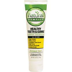 Natural Dentist - Natural Dentist All in One Fluoride Toothpaste Peppermint Twist 5 oz