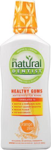 Natural Dentist - Natural Dentist Healthy Gums Antigingivitis Rinse Orange Zest 16.9 oz