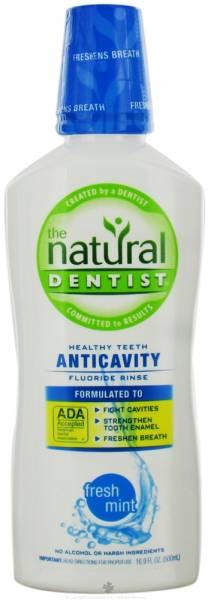 Natural Dentist - Natural Dentist Healthy Teeth Anti-Cavity Rinse Fresh Mint 16.9 oz