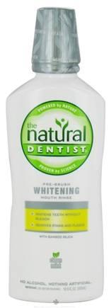 Natural Dentist - Natural Dentist Healthy White Whitening Pre Brush Rinse Clean Mint 16.9 oz