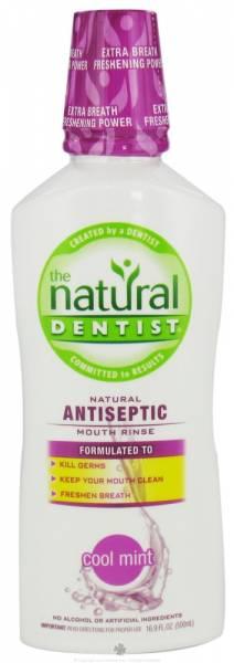 Natural Dentist - Natural Dentist Natural Antiseptic Mouth Rinse Cool Mint 16.9 oz