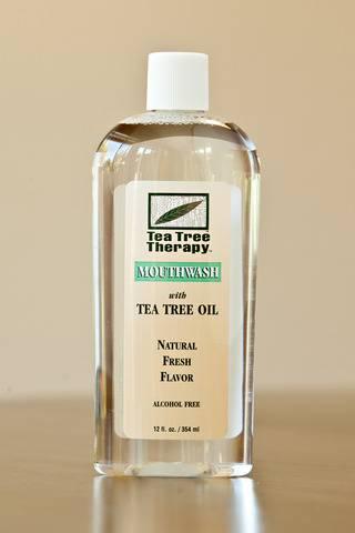 Tea Tree Therapy Inc. - Tea Tree Therapy Inc. Natural Mouthwash Alcohol Free Tea Tree 12 oz