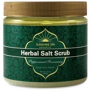 Sunshine Products Group - Sunshine Products Group Herbal Salt Scrub Peppermint-Rosemary 23 oz