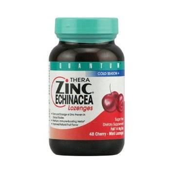 Quantum - Quantum Zinc Echinacea Lozenges Cherry 48 loz