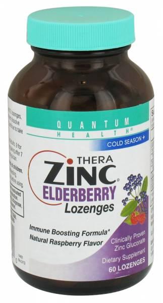 Quantum - Quantum ZincElderberry Lozenges Raspberry 60 lozenge