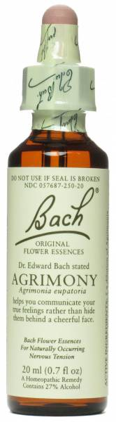 Bach Flower Essences - Bach Flower Essences Flower Essence Agrimony 20 ml