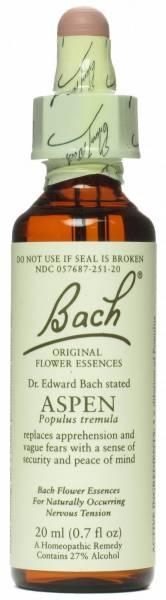 Bach Flower Essences - Bach Flower Essences Flower Essence Aspen 20 ml