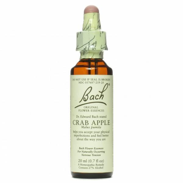 Bach Flower Essences - Bach Flower Essences Flower Essence Crab Apple 20 ml