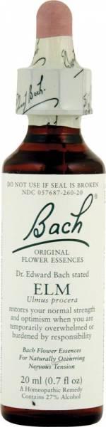 Bach Flower Essences - Bach Flower Essences Flower Essence Elm 20 ml