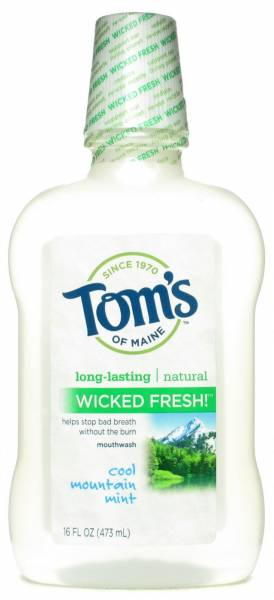 Tom'S Of Maine - Tom's Of Maine Long Lasting Wicked Fresh Cool Mountain Mint Mouthwash 16 oz