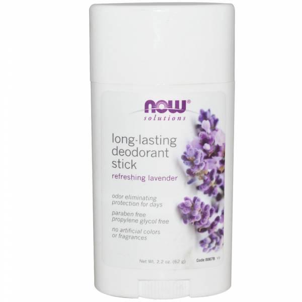 Now Foods - Now Foods Long Lasting Deodorant Stick 2.2 oz