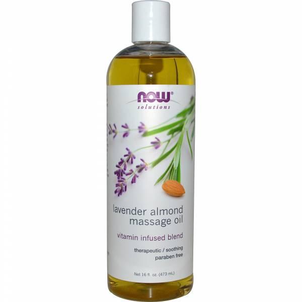 Now Foods - Now Foods Massage Oil 16 fl oz - Lavender Almond