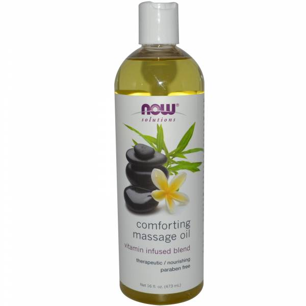 Now Foods - Now Foods Massage Oil 16 oz - Comforting