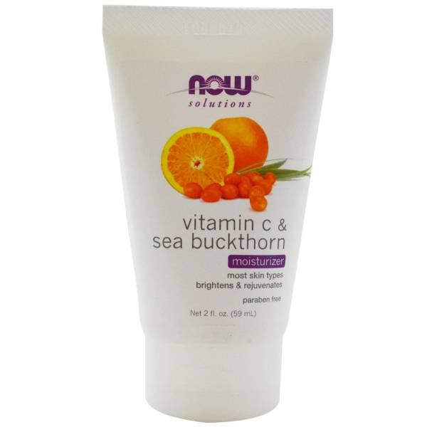 Now Foods - Now Foods Moisturizer 2 fl oz - Vitamin C & Sea Buckthorn