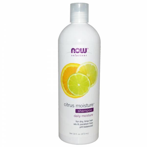 Now Foods - Now Foods Moisture Shampoo 16 oz - Citrus