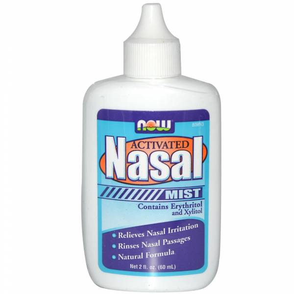Now Foods - Now Foods Nasal Mist Activated 2 fl oz