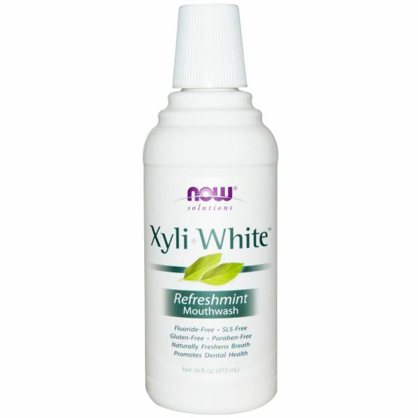 Now Foods - Now Foods XyliWhite Mouthwash 16 oz - Refreshmint
