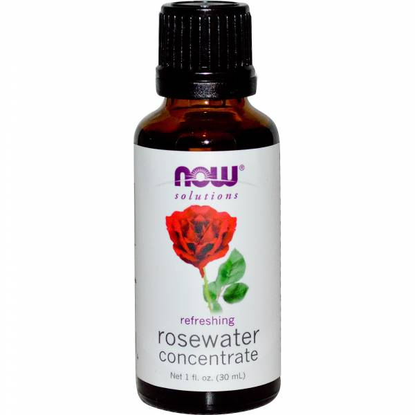 Now Foods - Now Foods Rosewater Concentrate 1 oz
