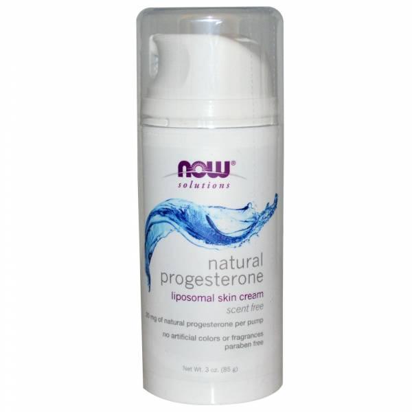 Now Foods - Now Foods Natural Progesterone Liposomal Skin Cream 3 oz