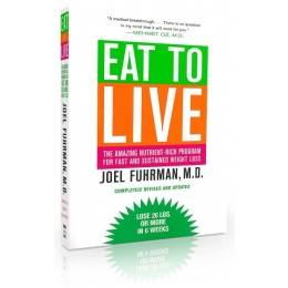 Books - Eat to Live - Joel Fuhrman M.D.