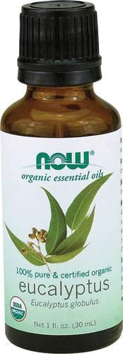 Now Foods - Now Foods Eucalyptus Oil Certified Organic 1 oz