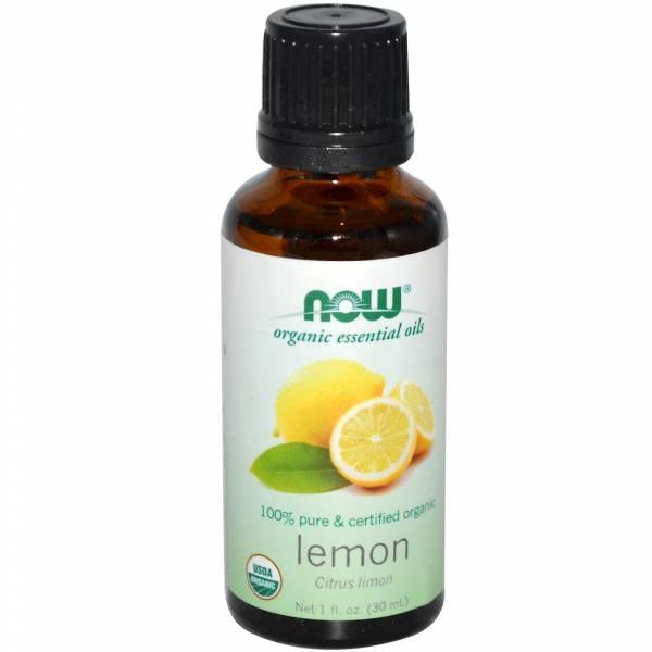 Now Foods - Now Foods Lemon Oil Certified Organic 1 oz
