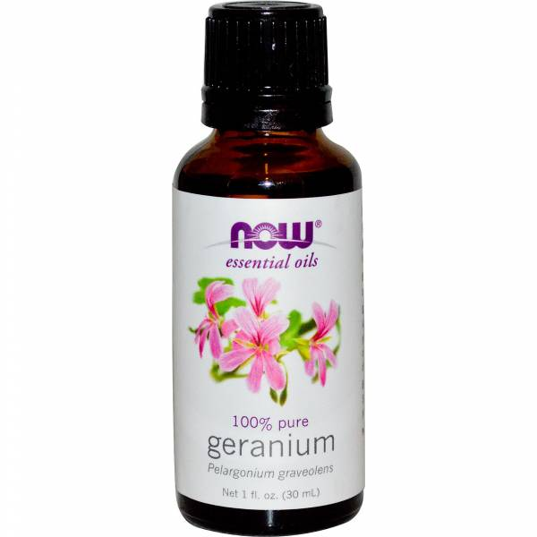 Now Foods - Now Foods Geranium Oil 1 oz