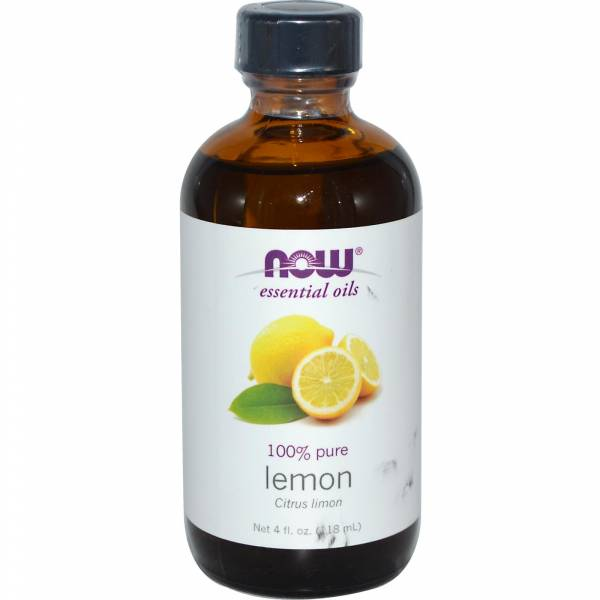 Now Foods - Now Foods Lemon Oil 4 oz