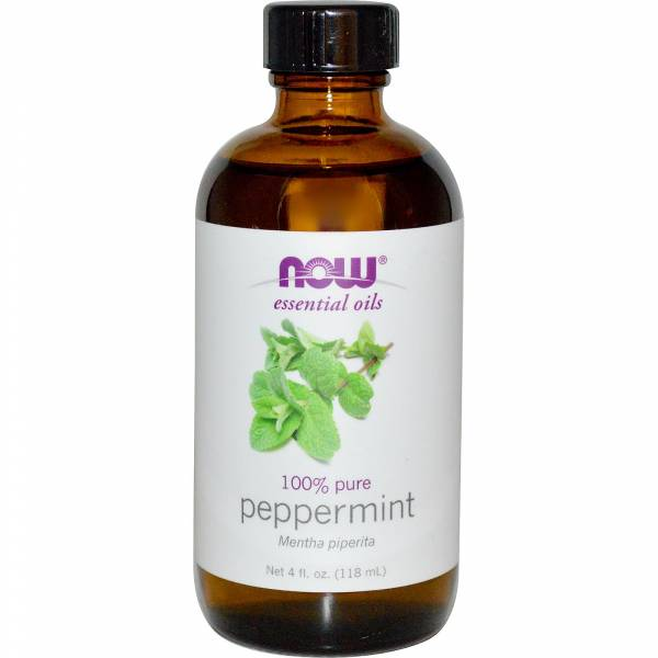 Now Foods - Now Foods Peppermint Oil 4 oz