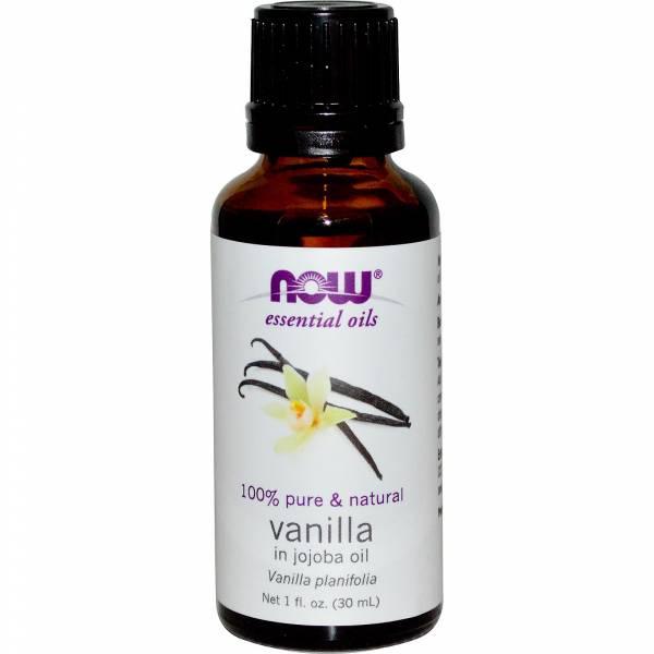 Now Foods - Now Foods Vanilla Oil 1 oz