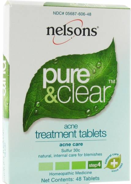 Nelson Homeopathics - Nelson Homeopathics Acne Treatment 48 Tablets