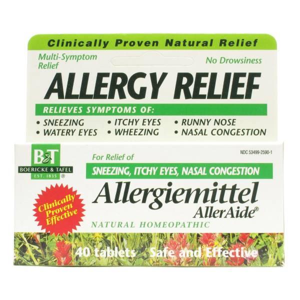 Boericke & Tafel - Boericke & Tafel Allergiemittel AllerAide 40 tab