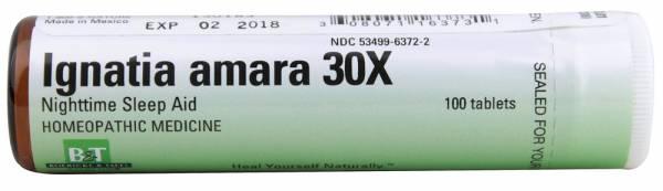 Boericke & Tafel - Boericke & Tafel Ignatia Amara 30X 100 tab