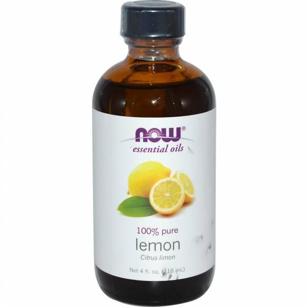 Now Foods - Now Foods Lemon Oil 4 oz (2 Pack)