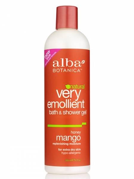 Alba Botanica - Alba Botanica Body Bath12 oz- Honey Mango (2 Pack)