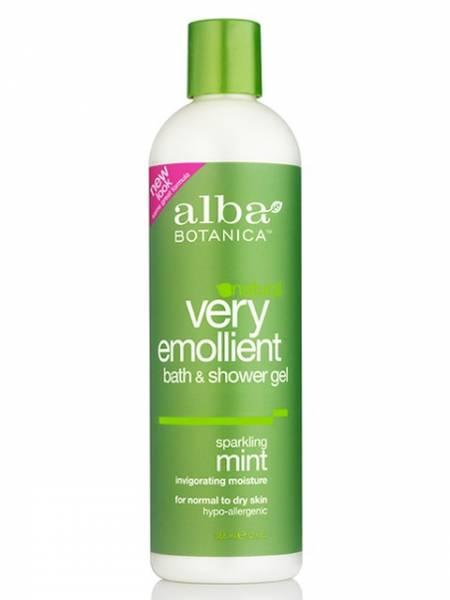 Alba Botanica - Alba Botanica Bath Gel32 oz- Sparkling Mint (2 Pack)