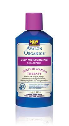 Avalon Organic Botanicals - Avalon Organic Botanicals Shampoo Awapuhi Mango Moisturizing 14 oz (2 Pack)