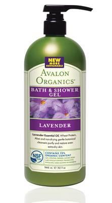 Avalon Organic Botanicals - Avalon Organic Botanicals Bath & Shower Gel Value Size 32 oz- Organic Lavender (2 Pack)