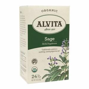 Alvita Teas - Alvita Teas Sage Leaf Organic Tea 24 Bags (2 Pack)