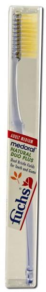 Fuchs Brushes - Fuchs Brushes Natural Duo Plus Toothbrush - Medium
