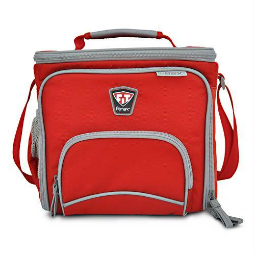 Fitmark - Fitmark The Meal Management Box - Red