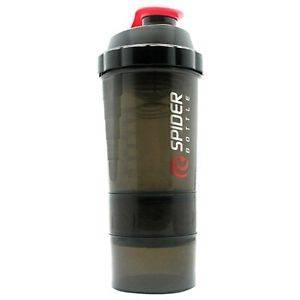 Spider Bottle - Spider Bottle Maxi 2 Go 24 oz - Black/Red