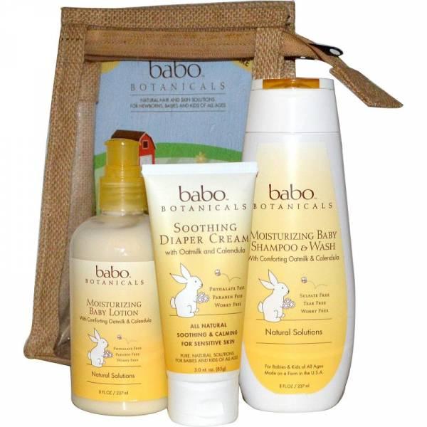 Babo Botanicals - Babo Botanicals Newborn Gift Set